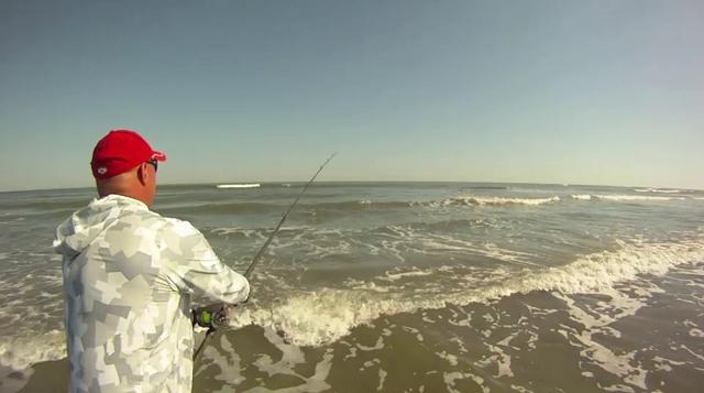 70# Red Drum Surf Fishing – 2011