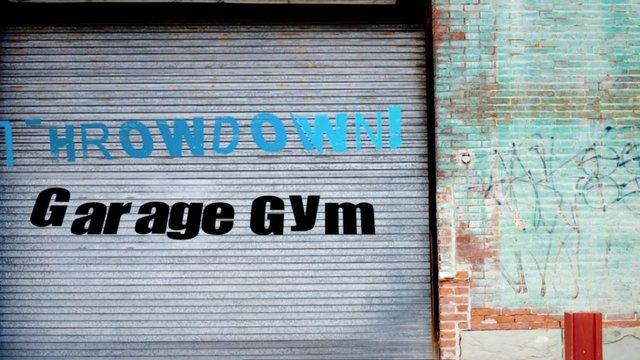 Crossfit central garage gym throwdown on vimeo