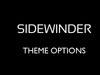 Sidewinder theme for WordPress - Theme Options