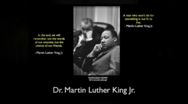 Homework help on martin luther king