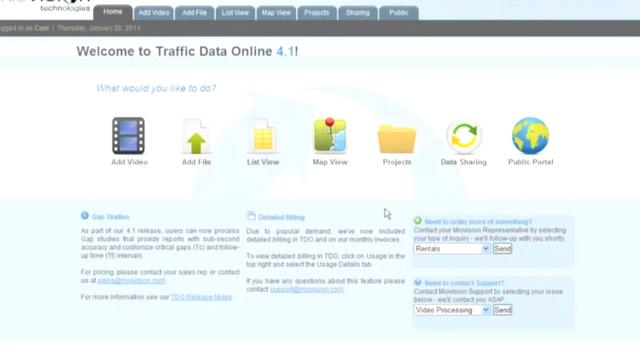 TrafficDataOnline.com Demo Video