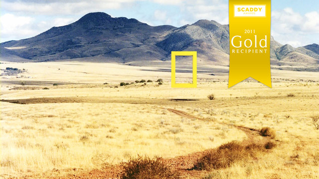 National Geographic Frame [Network ID Concept]