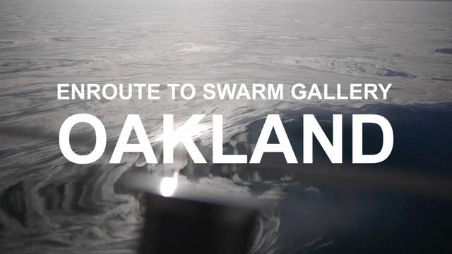 Sailing/ Motoring to Oakland For an Art Opening