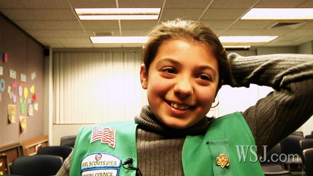 Would You Buy Cookies From This Girl Scout?