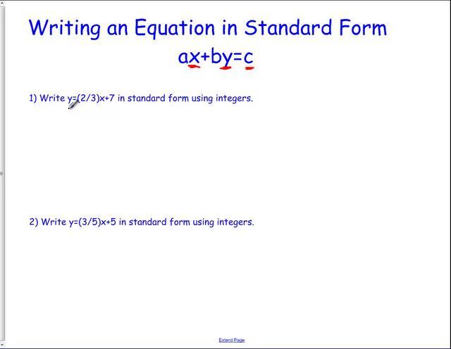 standard form of an essay