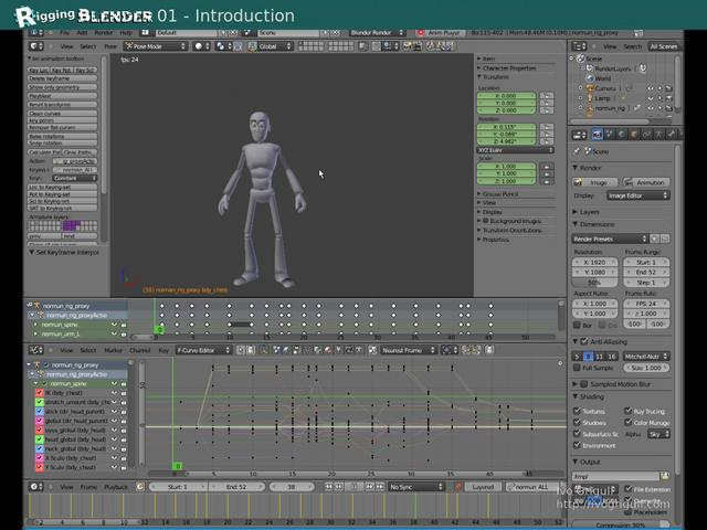 Introduction To Character Modeling In Blender : Blender introduction to character animation tutorial