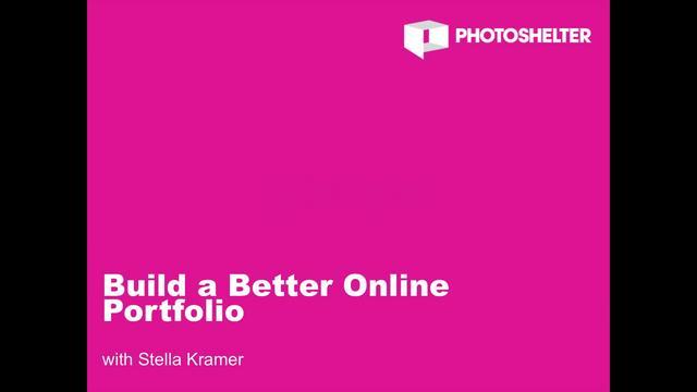 Build a Better Online Portfolio with Stella Kramer