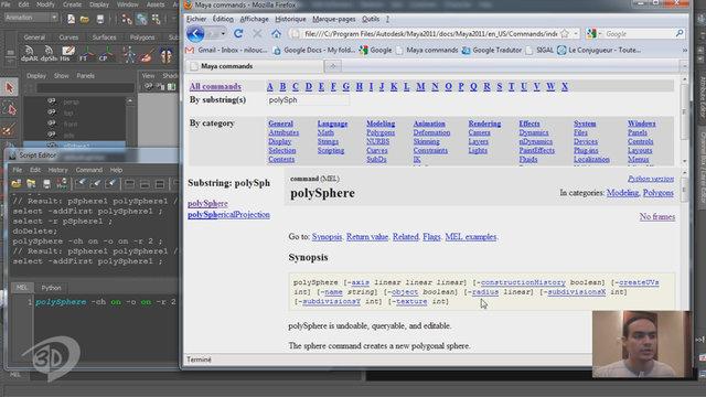 Tutorial - Python in Maya - Start - PT