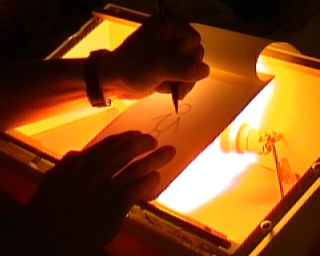 10 comment construire sa propre table lumineuse on vimeo - Comment fabriquer une enseigne lumineuse ...