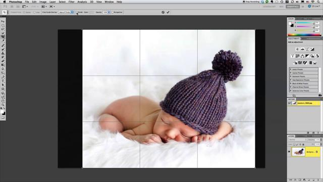 Two Minute Tip: Using the Crop Tool in Photoshop