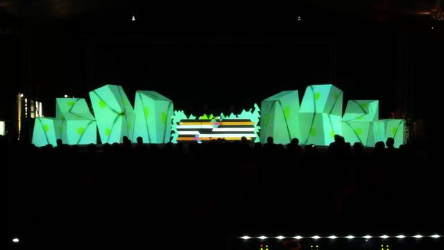Mapping VJ set at Creamfields Florianopolis