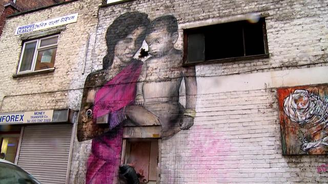 Video | Street Art and Reality on Hanbury Street, London