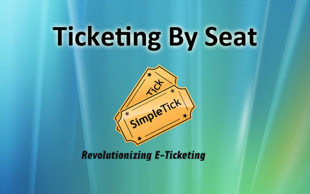 Ticketing by Seat