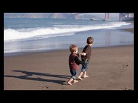 Outdoor photography: Family photos at Baker Beach