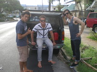 UNKLE visits Ethan Lau in Hawaii
