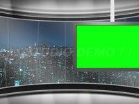 Virtual Set 6 – Right Animated Monitor
