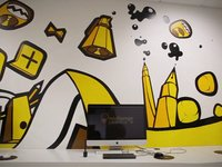 Ilustrando la pared / drawing the wall