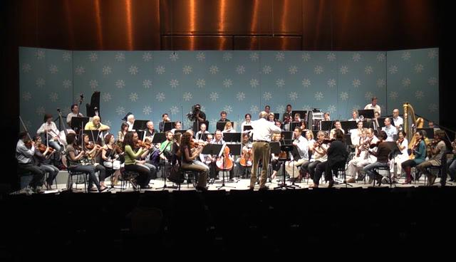 The chamber orchestra of europe rehearses with nikolaus for Chamber orchestra of europe