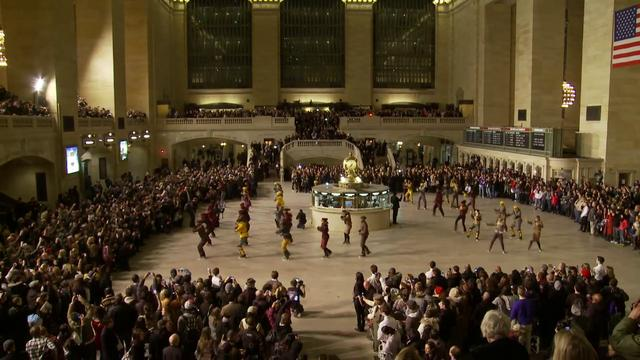 Video: Moncler Grenoble Fall/Winter 2011 Presentation at Grand Central Station