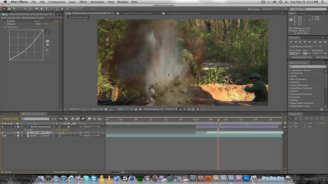 Mortar and Explosion After Effects Tutorial