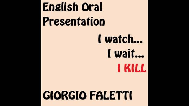 english oral presentation Giving a good oral presentation involves time and skill you need to learn how to research well, organize your ideas, engage your audience and feel confident talking.