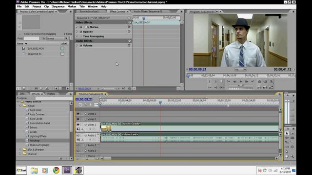 Adobe Premiere Pro Cs3 Tutorial Video