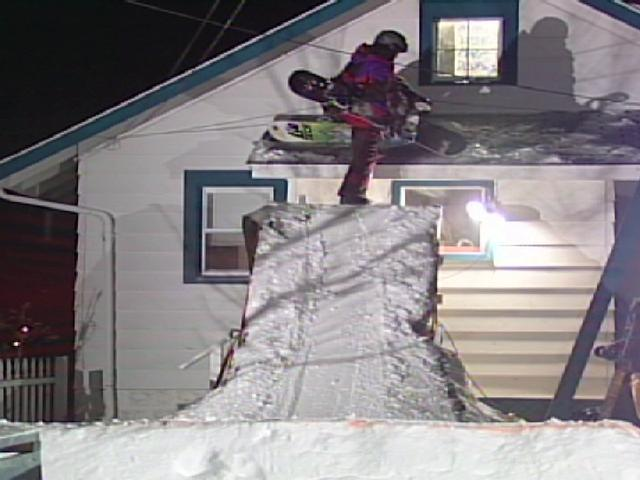 How To Make A Backyard Terrain Park For Snowboarding