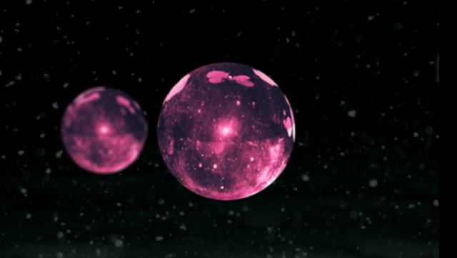 Glass Orbs in Space by Sabrina on Vimeo