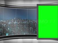 Virtual Set 6 – Sideways Animated Monitor