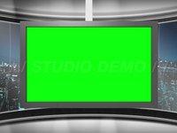Virtual Set 6 – Center Animated Monitor