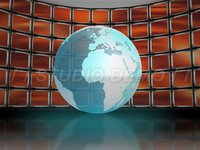 Virtual Set 5 – Globe Monitor 3