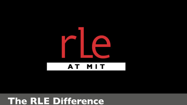The RLE Difference