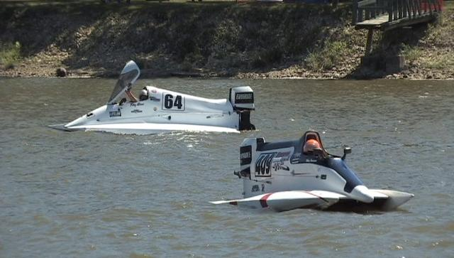 Power boat nationals on the kankakee river