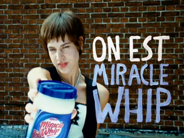 Miracle Whip - French TV