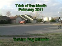 Rad Dad- Trick of the Month Turbine Peg Wheelie