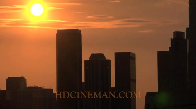 Stunning Los Angeles Sunset Time Lapse