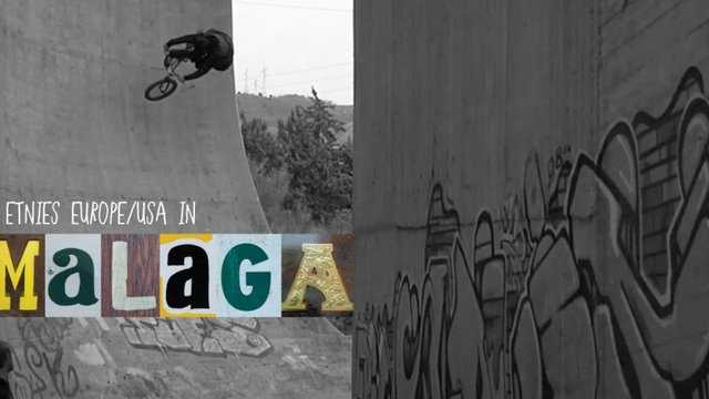 Ruben Alcantara rides Malaga spots with etnies BMX team