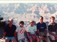 Grand Canyon - Our hike to the Colorado River - 1989