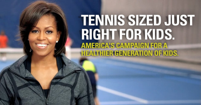 Tennis Sized Just Right for Kids