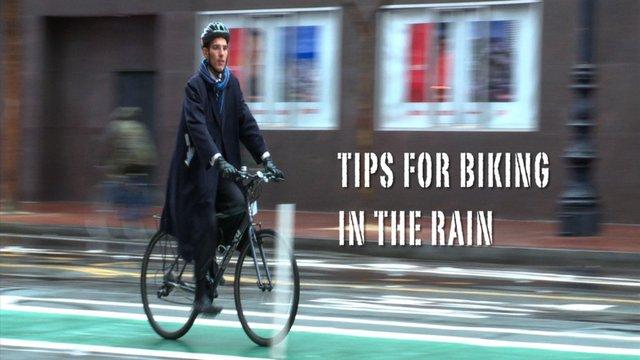 URBAN BIKING: Tips for Biking in the Rain on Vimeo