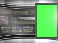 Virtual Set 2 – Sideways Animated Monitor