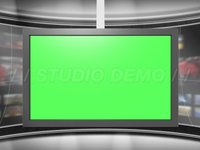 Virtual Set 2 – Animated Center Monitor