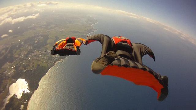 Exploring the Sky: Wingsuit Flying