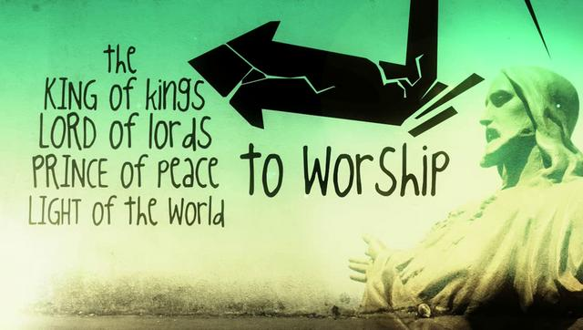 Now Is The Time to Worship HIM