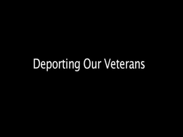 Deporting our Veterans
