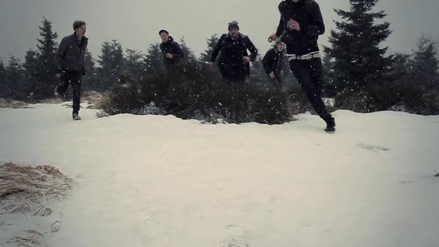 Findus // Gehen im Schnee