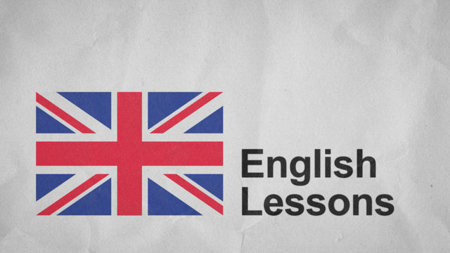 lesson in english:
