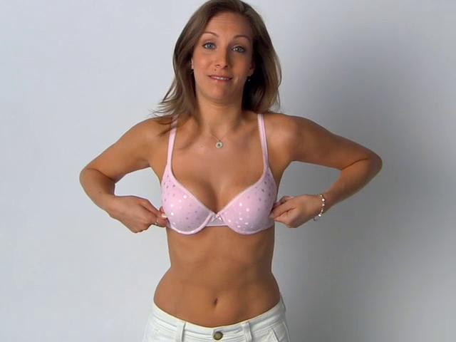 how to put the bra