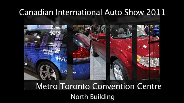 Canadian International Auto Show 2011 Metro Toronto Convention Center North