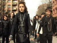 Urdanetakoen desfilea